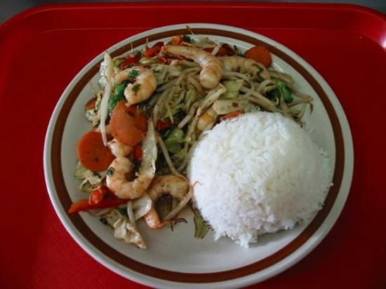 My Place Restaurant: Chop Suey Combo