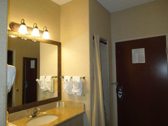 Comfort Suites Golden West on Evergreen Parkway: Sink area