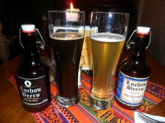 Creperie Patrick: cerveza artesanal de huaraz...riquísima