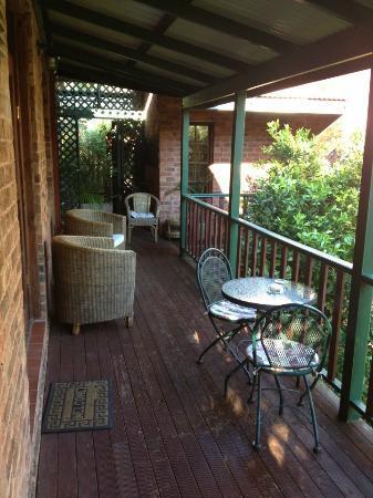 Storey Grange: Our balcony