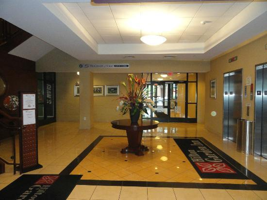 Hilton Garden Inn Albany Medical Center: Street Level entrance