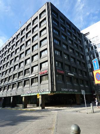 Scandic Sergel Plaza: Hotel, outside view