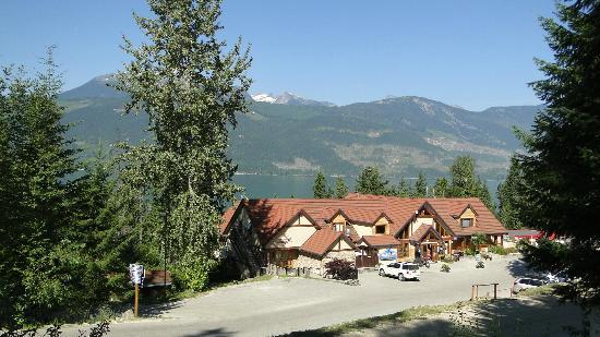 Nakusp, Канада: from the parking lot