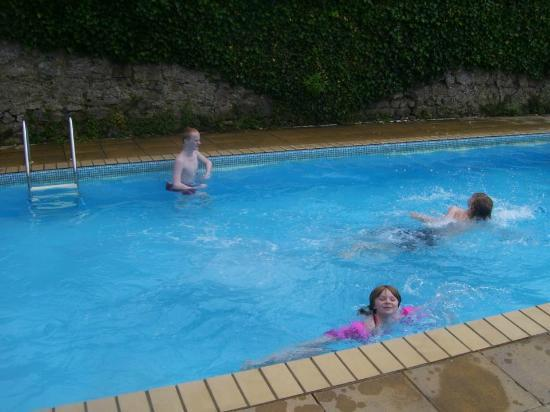 Outside Pool At Hotel Picture Of Fourcroft Hotel Tenby Tripadvisor