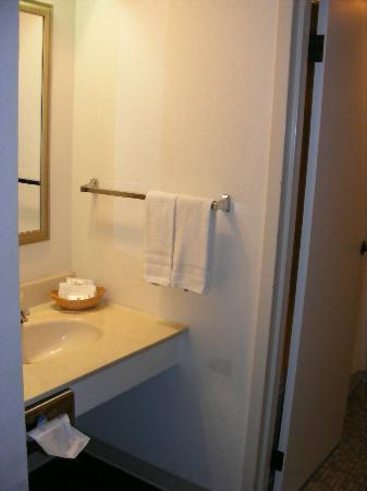 FairBridge Inn Express at Windsor Oaks: Vanity was separate from shower (which I like)