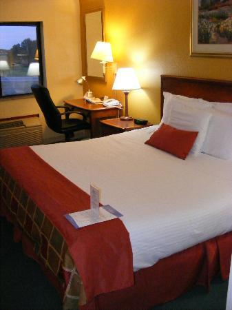 Baymont Inn & Suites Springfield: Comfy bed