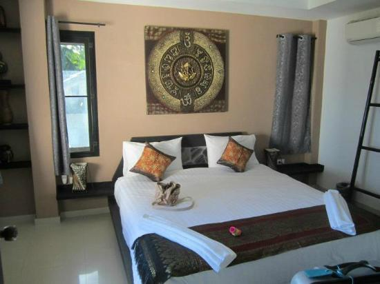 Koh Tao Heights Boutique Villas: Comfy bed :)