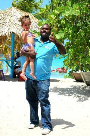 """Punta Cana, Dominican Republic: Con """"el tío Rocky"""""""
