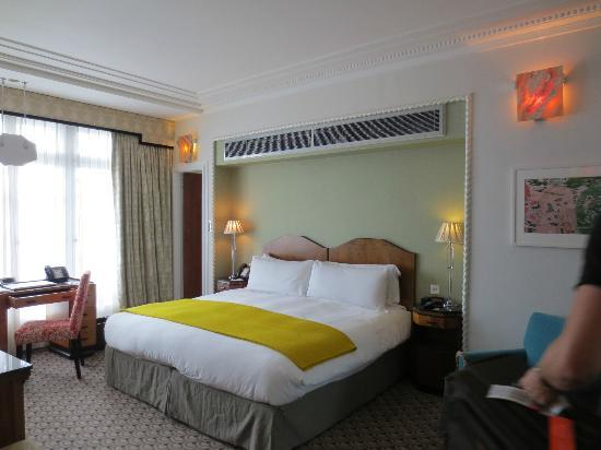 Claridge's: One of our bedrooms