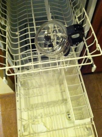 Larkspur Landing Renton: don't put 1 thing in dishwasher & run it!