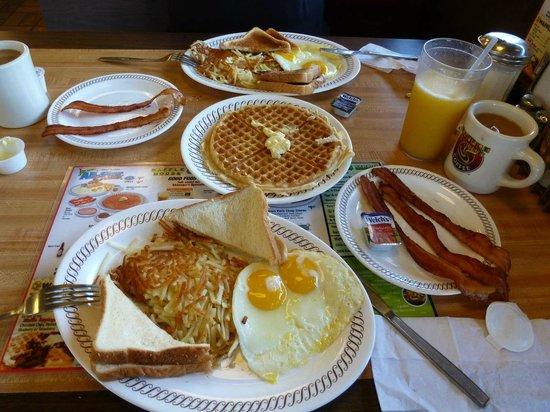 Waffle House Food Menu