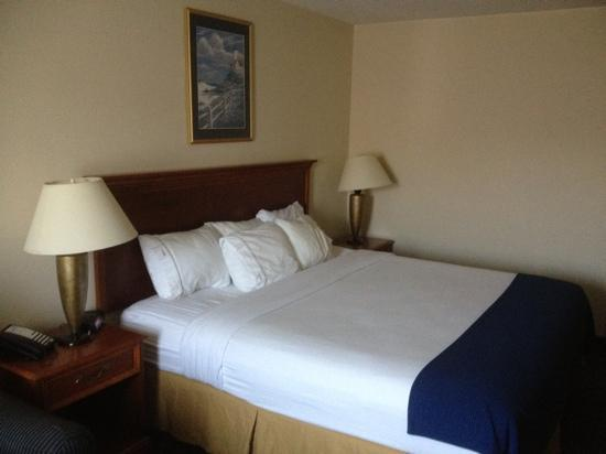 Holiday Inn Express La Porte: the Bed