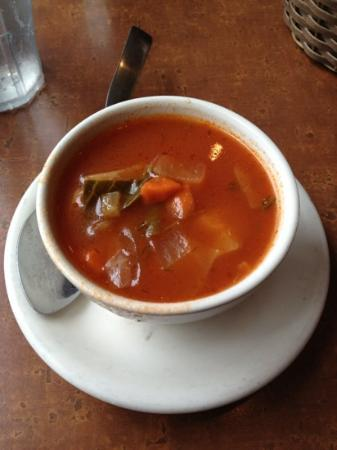 Melrose Restaurant: delicious cabbage soup