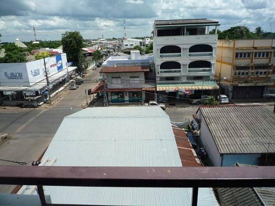 Phaiboon Place Hotel: ベランダからの眺め