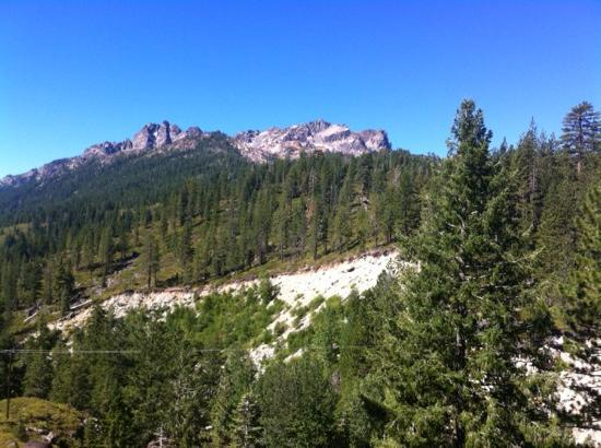 Sierra Buttes from the Gold Lake Highway.