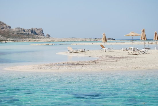 Balos Beach and Lagoon: Quitet