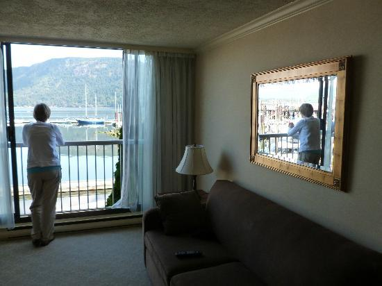 Oceanfront Suites at Cowichan Bay : view