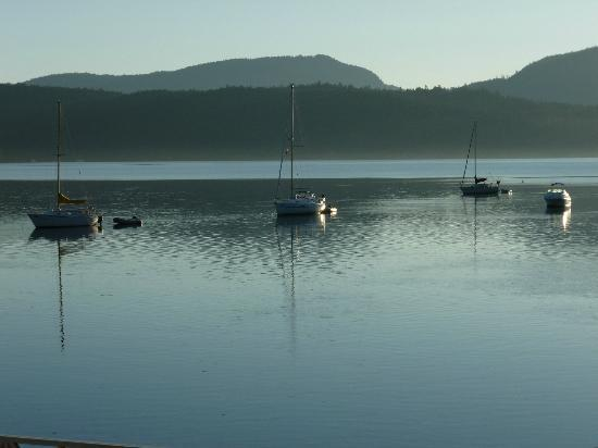Oceanfront Suites at Cowichan Bay: view