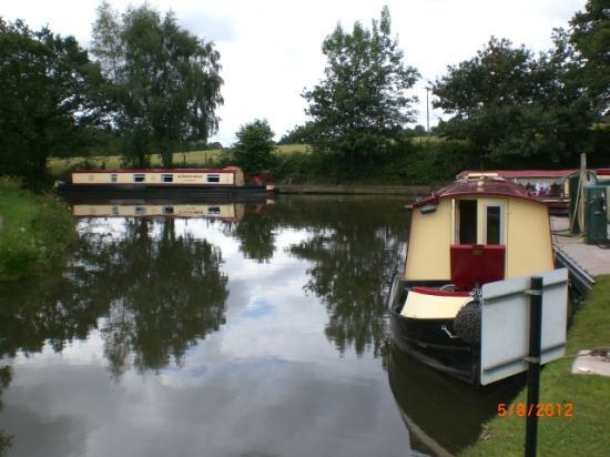 Goytre Wharf & Canal Visitor Centre: the canal