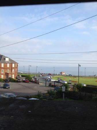 The Middleham Whitby: view from room 2 out to sea