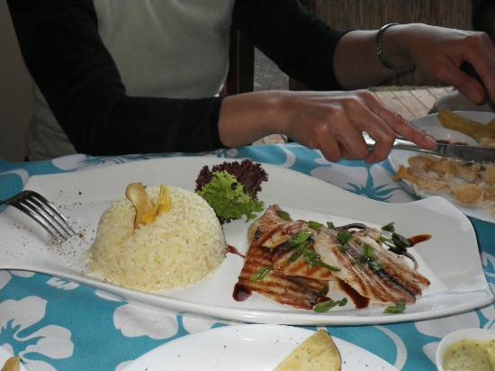 Tataku Vave: my wife's fave fish dish