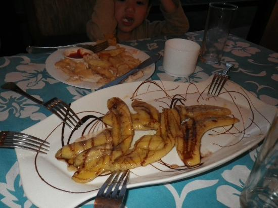 Tataku Vave: delicous sweet banana dessert