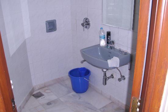 Hotel Ashray International: Shower