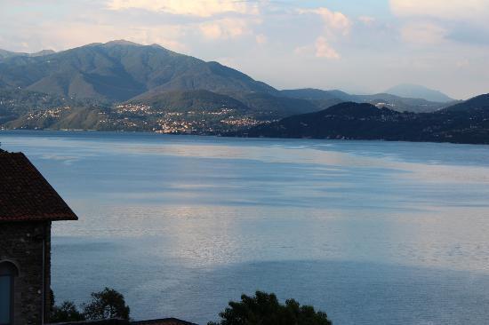 Residenza Dolce Vita : Uitzicht vanop het terras van de kamer