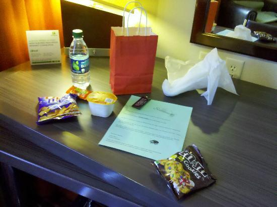 Holiday Inn Express & Suites Amarillo West: Unexpected welcome gift