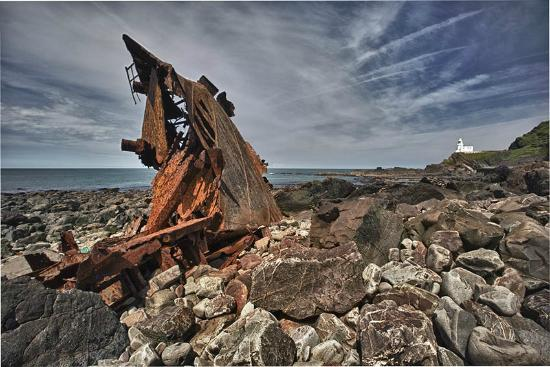 Hartland, UK: The wreck of the