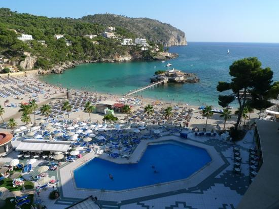 Grupotel Playa Camp de Mar : what a view from the 6th floor!