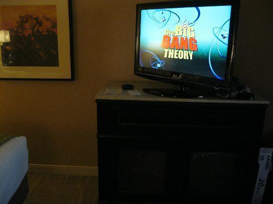 Hyatt Regency Phoenix: お部屋のTV