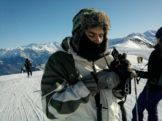 Clubhotel Le Mont Corbier: powder skiing