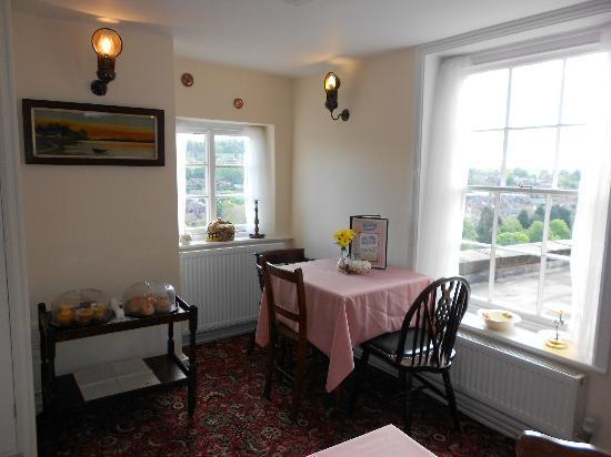 The Winding House Tea Rooms: Lovely 1940s inspired tea rooms with gorgeous views over Low Town and the River Severn