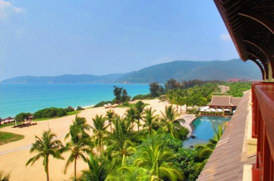 The Ritz-Carlton Sanya Yalong Bay: view from room