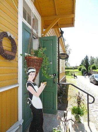Coffee house Majurska : Cafeteria Majurska, The Fortress, Lappeenranta