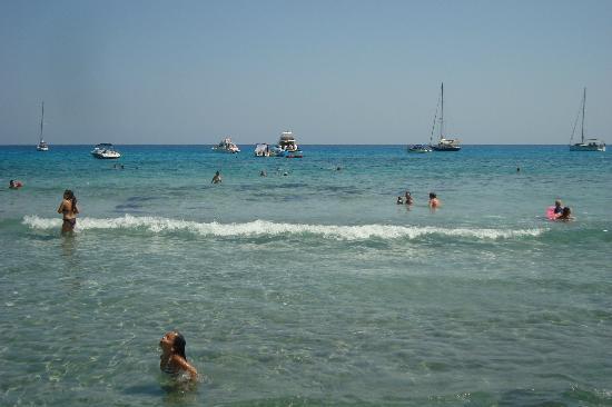 Canyamel, Spain: La mer