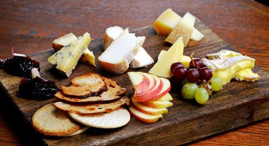Our great British cheese board - Picture of The National
