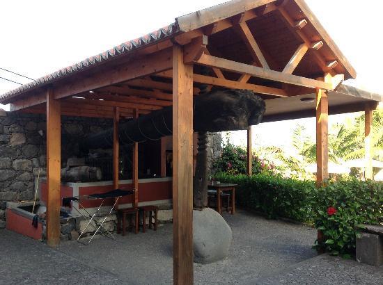 Casa da Capelinha: The wine press