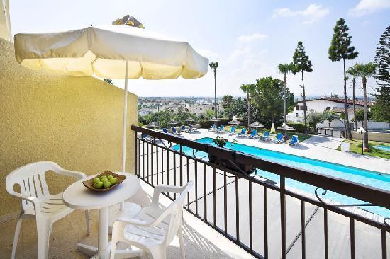 Club Aphrodite Erimi: Balcony view