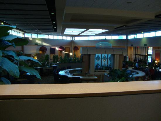 Holiday Inn - Orlando International Airport : inside the hotel