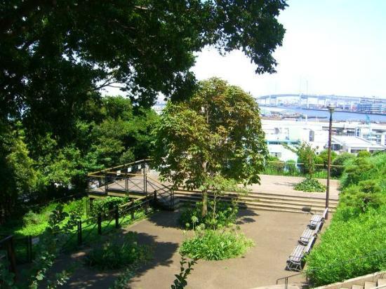 港の見える丘公園, 風景