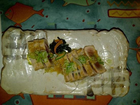 Kappa Japanese Restaurant: Seared Tuna