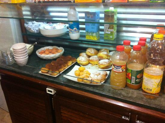 Hotel Migani Spiaggia : завтрак