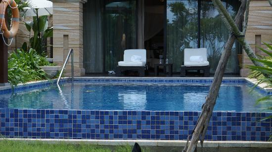 Conrad Sanya Haitang Bay: Beach Ocean View Pool Villa