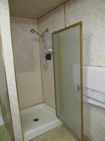 Che'nai Bed and Breakfast: the shower was very worn-out