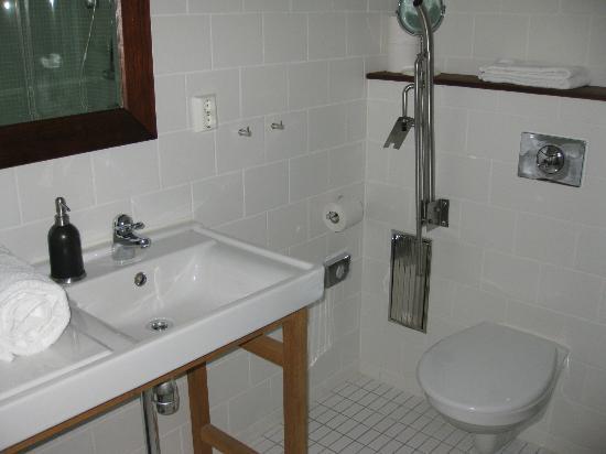 The Lodge: Bathroom