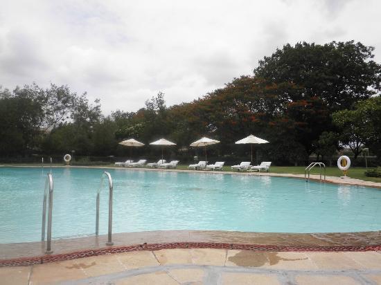 Vivanta Aurangabad: poolside area