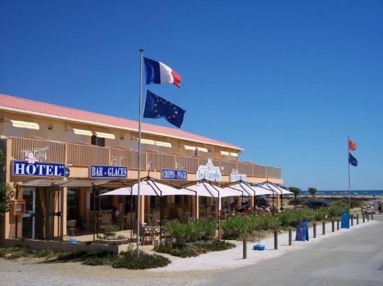 Les 3 Caravelles: Hotel bord de mer