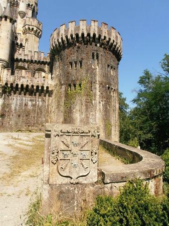 Castillo de Butrón: Escudo
